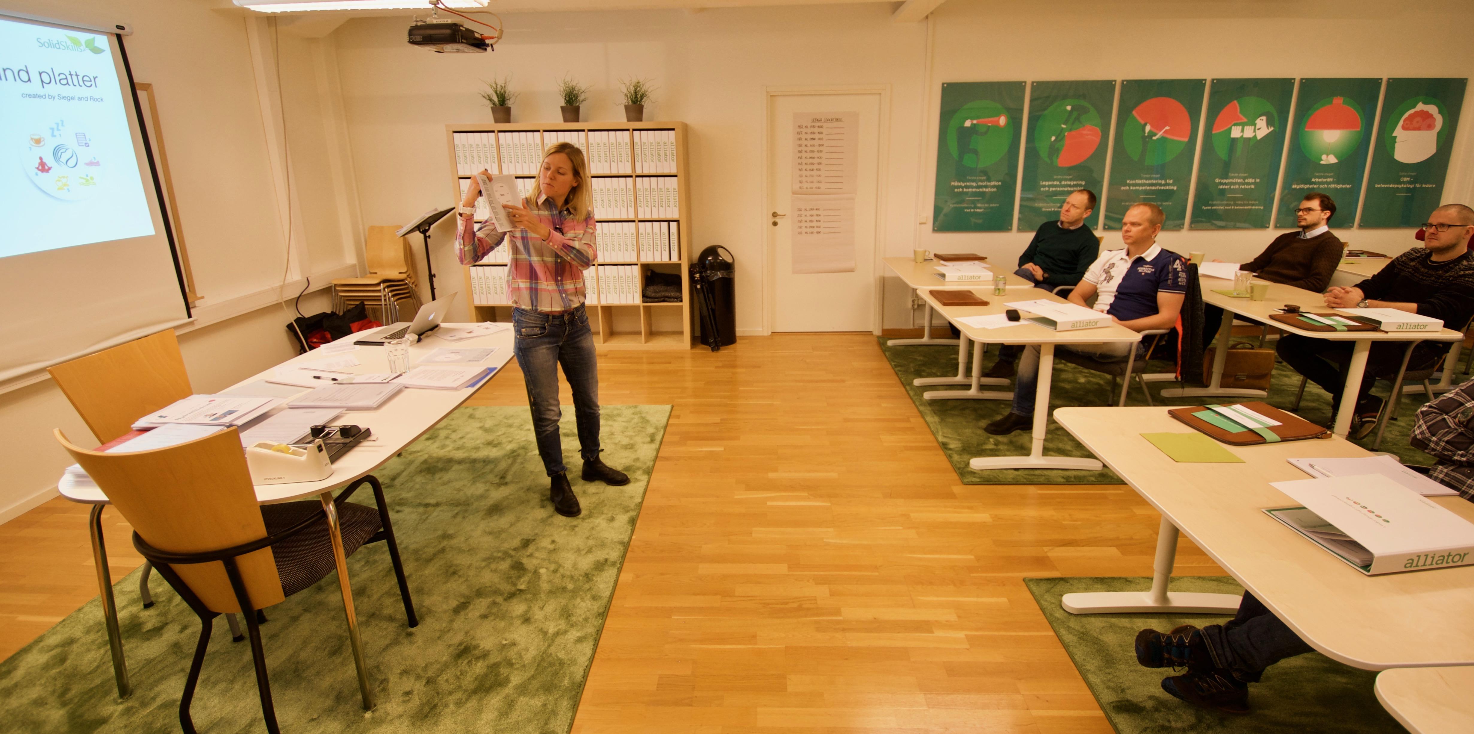Emelie föreläser om effektiv kommunikation